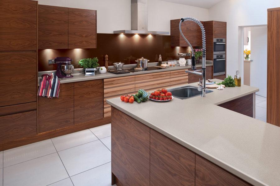 Formica kitchen worktops modern kitchens dubin - Materiales para encimeras de cocina ...
