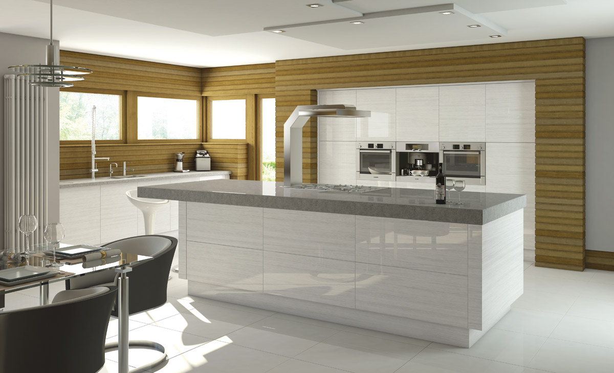 High gloss kitchens dublin fitted kitchens bespoke for High gloss kitchen units