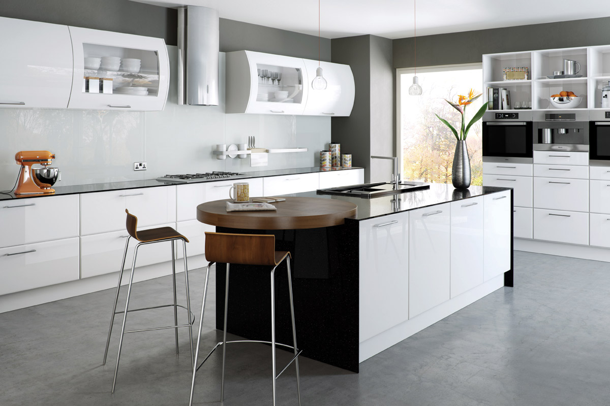 white high gloss kitchen cabinets high gloss kitchens dublin fitted kitchens bespoke 1773